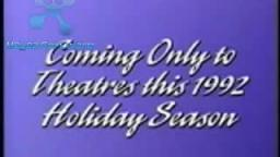 Coming Only To Theatres This 1992 Holiday Season (Music) (paulsbuck5 reupload)