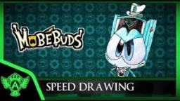 Speed Drawing: MobéBuds Mintty (Concept 1) | Mr. A.T. Andrei Thomas