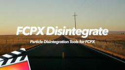 FCPX Disintegrate - Particle Disintegration Effects for FCPX - Pixel Film Studios