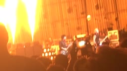 Green Day Concert Fire Effects