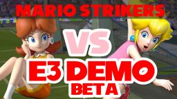 Super Mario Strikers E3 BETA Gameplay Test