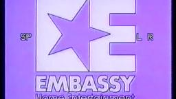1982 Embassy Home Entertainment International Logo (Rare and Incomplete)
