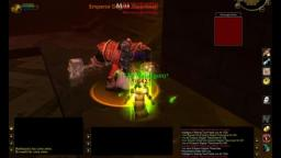 Rogue and druid solo BRD boss Tharusian, Wow Classic.