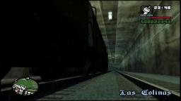 Grand Theft Auto: San Andreas - Train - PS2 Gameplay