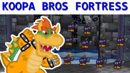 Modding Koopa Bros Fortress in Paper Mario