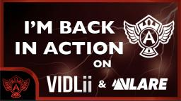 IM Back in Action on Vlare.TV and Vidlii