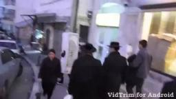 Footage of Gestapo agents in Jewish Neighbourhood