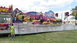 August 2015 At Walton On The Naze Carnival Essex Fun Fare Rides Tour