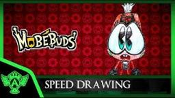 Speed Drawing: MobéBuds Jerrica (Concept 1) | Mr. A.T. Andrei Thomas