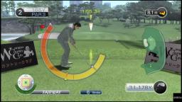 Yakuza 4 - Golf - PS4 Gameplay