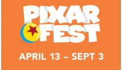 guys! there is a pixar fest!