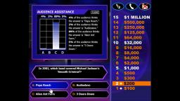 Who Wants to Be a Millionaire!