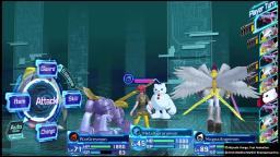 Digimon Story: Cyber Sleuth - Battle - PS4 Gameplay