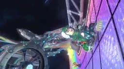 Me Playing Rainbow Road In Mario Kart 8 (Wii U Version)