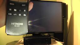 Hitachi 42HYT42U 42 inch LED TV full HD 1080p & freeview HD plugged into Internet & smart apps