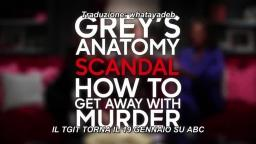 TGIT Returns Promo Greys Anatomy, Scandal, How to Get Away with Murder - SUB ITA