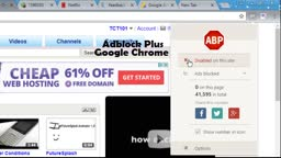 A Friendly Reminder To PLEASE Disable Your Adblock Extension Onto Vidlii.com