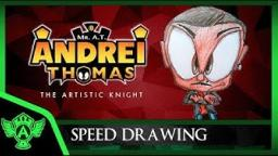 Speed Drawing: Myself (Concept 2) | Mr. A.T. Andrei Thomas