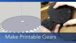 Make a Gear in SketchUp
