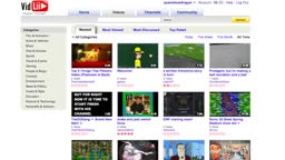 vidlli with 2007/2008 youtube theme