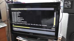 How to retune digital DTV freeview on a Toshiba TV