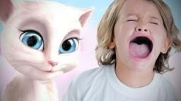 GAME BANNED FROM KIDS! - Talking Angela