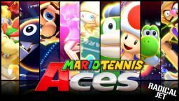 Mario Tennis Aces Online Tournament (DEMO) All characters Special Shots