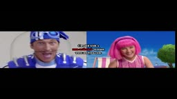 Take a Vacation but its a (better) comparison with No Ones Lazy in LazyTown
