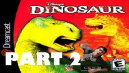 Charlie plays Disneys Dinosaur video game! Part 2