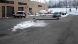 Dumb kid runs over pole during auto class [February 15th, 2007]