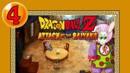 Lets Play Dragonball Z Attack of the Saiyans Part 4 - Das Karottenmonster ist wieder dah
