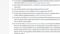 Atrocious YouTubers Wiki Rant/Why I am NOT atrocious.