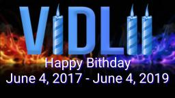 Happy Birthday Vidlii