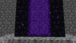 (Minecraft) Nether Portal Entrance Before 1.3 or 1.9