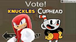 Knuckles VS Cuphead