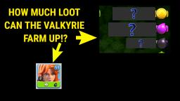 HOW MUCH LOOT CAN THE VALKYRIE GET WHEN AT DISCOUNT! - Clash of Clans