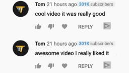 THE WORST COMMENT ON YOUTUBE (Tom Comment Bot)