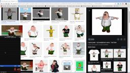 Google Images Peter Griffin T-pose any% 6:65 WORLD RECORD