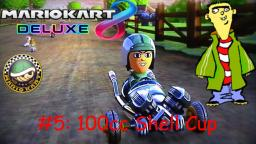 Mario Kart Ed Deluxe Mii Character Races Episode 5: 100cc Shell Cup with Ed