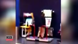 Adam Lanza playing ddr