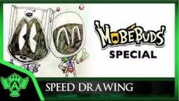 Speed Drawing: MobeBuds Special - Vidminime and Vidme Astro | Mr. A.T. Andrei Thomas