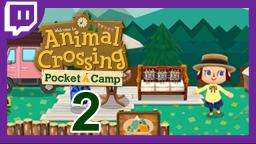 ANIMAL CROSSING POCKET CAMP [Livestream] 2