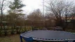 Trampoline time-lapse