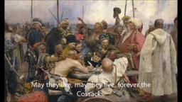 Ukrainian Cossack Folk Song | May she live forever, a free Ukraine