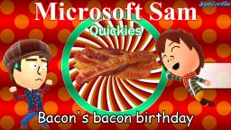 Bacons bacon birthday