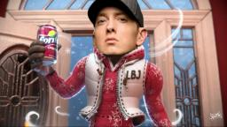 Eminem wants a Sprite Cranberry
