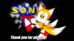 Sonic R ending tails