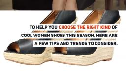 Latest Trends in Womens Shoes - MYMYSHOES