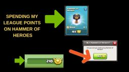 BUYING THE HAMMER OF HEROES!!! - Clash of Clans