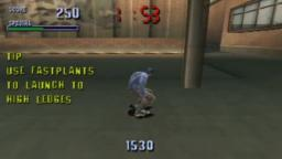 Tony Hawks Pro Skater 1 PS1 - IM RUSTY AS HELL.
